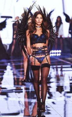 Lily Aldridge - VS Fashion Show 2014 #vsfashionshow #model #vsangel #london #lilyaldridge #outfit #allblack #angelsball #celebrity #victoriassecret #hot #pretty #brunette #scenario #show #catwalk #fashion #legs #sexy #tights #great #gorgeous #lingerie #stunning #outfit #godess #vsangel #wings #perfect #LilyAldridge