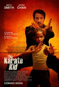 TIL The 2010 remake of Karate Kid does not feature karate which is from Okinawa (Japan) but focuses on the main character learning kung fu in China. Jackie Chan believed the film would only be called The Karate Kid in America and The Kung Fu Kid in China Karate Kid 2010, The Karate Kid, Karate Kid Movie, Karate Kid Jackie Chan, Karate Karate, Kid Movies, Family Movies, Great Movies, Movies And Tv Shows