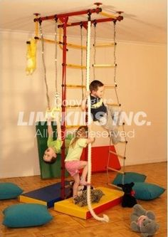 Limikids Home Gym For Kids Showroom Example. Indoor Fitness For Kids and Home Gyms equipment by LIMIKIDS.COM