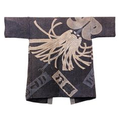 Japanese Fireman's Coat with Matoi (Fire Banner)
