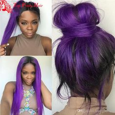 8A Long Purple Wig Human Hair Natural Straight Purple Black Lace Front Wig Glueless Brazilian Purple Black Virgin Hair Wig For Women Ponytal Long Purple Wig Purple Black Wigs Purple Black Lace front Wig Online with 439.59/Piece on Topprettyhair's Store | DHgate.com