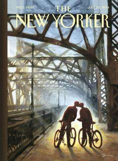 """""""Fifty-ninth Street Bridge"""" di Eric Drooker, 28 luglio 2014"""
