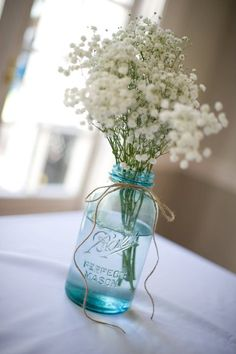 want the blue jars with white and purple flowers or mint
