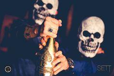 #ArmanddeBrignac served with a skull mask at #SETT #CLUB  #MaximuZ #MaximuZPhotography #Photography