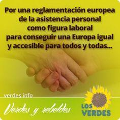 Iñaki Irazabalbeitia, Eurodiputado del Grupo Verdes-ALE se reune con la Federación Española de Vida Independiente