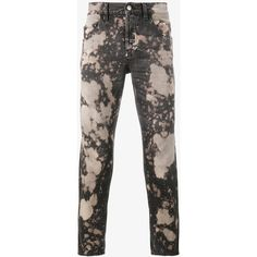 Gucci Acid-Washed Slim-Fit Jeans ($665) ❤ liked on Polyvore featuring men's fashion, men's clothing, men's jeans, mens acid wash jeans and gucci mens jeans