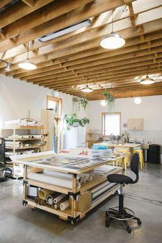 studio visit jason leonard is part of Design studio workspace - Studio Visit Jason Leonard artStudio Design Garage Art Studio, Art Studio At Home, Art Studio Spaces, Basement Studio, Art Spaces, House Studio, House Art, Home Art Studios, Craft Studios