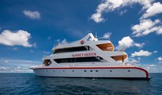 MV Sunset Queen liveaboard ... ideal for scuba divers who want to get the best diving in the Maldives.