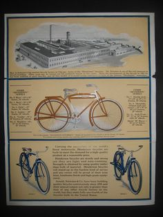 1920 Henderson Admiral - Picture #5 - Dave's Vintage Bicycles Bicycle News, Vintage Bicycles, Ads, Bicycles