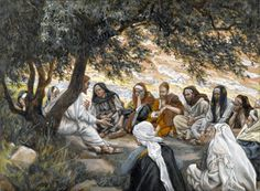 Jesus and the Apostles by James Tissot [No restrictions or Public domain], via Wikimedia Commons