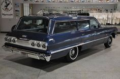 1963 Chevy Impala station wagon