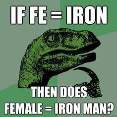 Best Chemistry Memes: Philosoraptor Ponders Life's Big Questions
