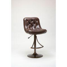 Aspen Copper Adjustable Bar Stool Hillsdale Furniture Bar Height (28 To 36 Inch) Bar Stool
