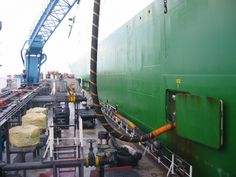 images of bunkering operations | Bunkering operations in the Port of Singapore…