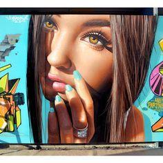 Street Art by Insane 51 in Thessaloniki, Greece.
