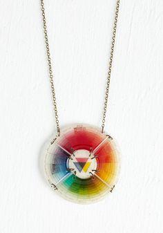 Take a Tint Necklace, #ModCloth
