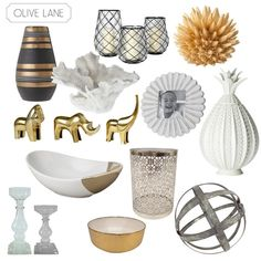 Target Threshold Nate Berkus Home Styling Accessories Cream Gold White Grey Black Natural
