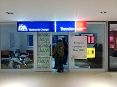 Travelex Tyger Valley Exciting News, Flat Screen, Lettering, Signs, Blood Plasma, Shop Signs, Flatscreen, Drawing Letters, Dish Display