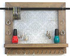 Almacenamiento de joyería joyería organizador por PennyLaneCompany