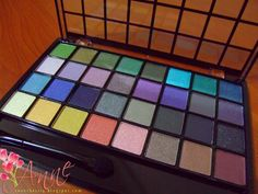 My E.L.F. eye shadow palette....LOVE it.  Great smooth shadows in fantastic colors!!
