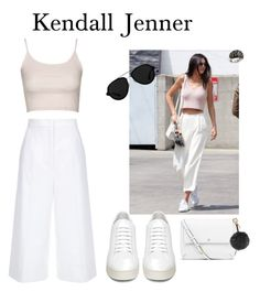 """Kendall Jenner loves cuiottes for spring❤️"" by anicute on Polyvore featuring Topshop, ESCADA, Off-White, 3.1 Phillip Lim, Rina Limor, Tory Burch and Fendi"