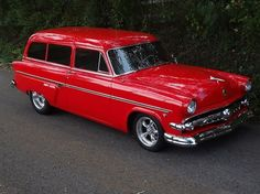 1954 Ford Ranch Wagon...Re-pin brought to you by #bestrate #CarInsurance at #HouseofInsurance Eugene