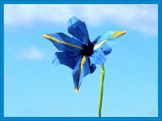 Joost Langeveld advanced and beautiful origami iris video