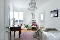 #homestyling #styling #bedroom #sovrum Penthousevåning på Kungsholmen | Move2