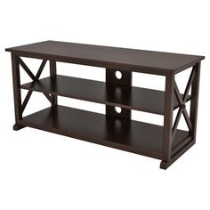 Z-Line Royce TV Console - Espresso - TV Stands at Hayneedle