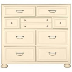 Harbor Town Dressing Chest by Young America