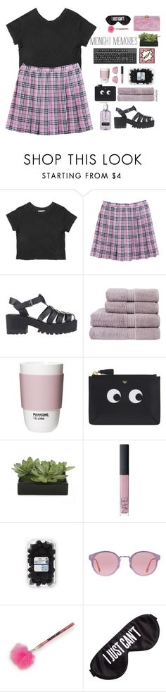 """fancy"" by itstepna ❤ liked on Polyvore featuring Windsor Smith, Christy, ROOM COPENHAGEN, Anya Hindmarch, Lux-Art Silks, NARS Cosmetics, RetroSuperFuture, Perpetual Shade, Edie Parker and BackToSchool"