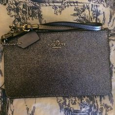 Coach Glitter Wristlet Coach Glitter Wristlet Coach Bags Clutches & Wristlets