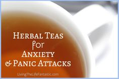 Herbal teas have a history of helping relieve many things, from insomnia to upset stomachs, but they are also good at helping relieve anxiety.
