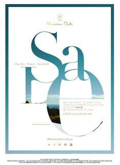 Massimo Dutti Newsletter | Summer Sale: