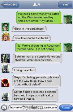 Poor Aquaman?