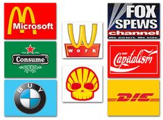 Culture Jamming: The Grassroots War Against Mind Control Culture Jamming, Design Art, Logo Design, Graphic Design, Guerrilla Advertising, Learning Styles, Consumerism, Creating A Blog, Blog Writing