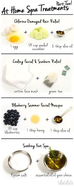 Perfect for a spa day. DIY spa day. Organic Spa at Home.