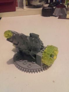 Mortier a proton en lego