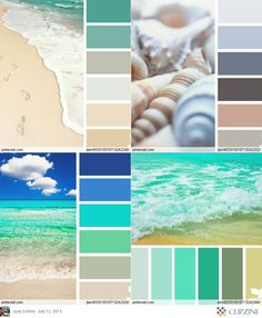 Colbeach or Palettes beach color. Really liking the pastel aquas…