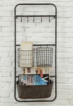 Metal Mail Rack from Home Decorators | Organization aka "|236|339|?|7133f85dda89f1b767b265e0377dc7eb|False|UNLIKELY|0.3507777452468872