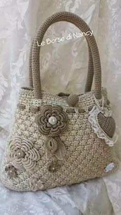Por Vi ... Tri ... Ne ...: Bolsos hechos a mano: crochet