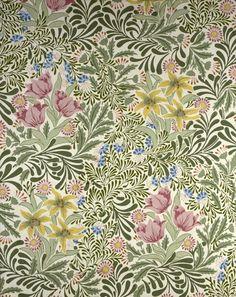 Bower by William Morris Brooklyn Museum: Decorative Arts: Wallpaper Sample Book