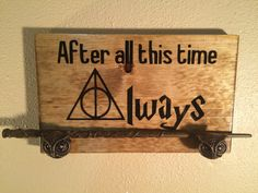 Harry Potter Always Wand Display W/ Owl by YourFantasyFactory
