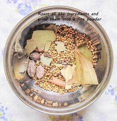 How to make Garam Masala - Kali Mirch - by Smita Masala Spice, Garam Masala, Chilli Spice, Podi Recipe, Homemade Seasonings, India Food, Arabic Food, Curry Recipes, Indian Food Recipes
