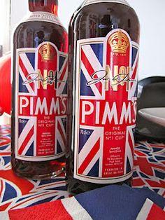 A very British Birthday Drink! Royal Tea Parties, Royal Party, Best Of British, British Summer, Pimms O Clock, Jack Food, British Party, Birthday Drinks, Party