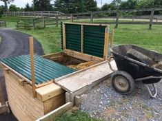 A blog about building and managing a small horse farm.
