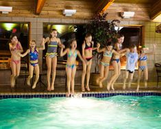 Great birthday party idea - party room at hotel with indoor pool. I think growing up, every kid did this in midland tx!! Nothing else to do!