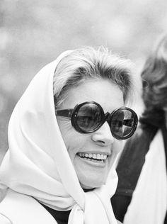 Lauren Bacall in Paris, 1968