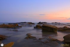 Mooloolaba beach at sunset. www.andrebrown.photography