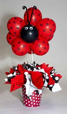 Resultado de imagem para ideas para cumpleaños de ladybugs